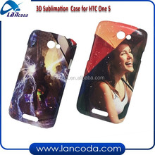 promotion 3d sublimation cell phone case for HTC One S,3d sublimation phone case,3d sublimation blank phone cover