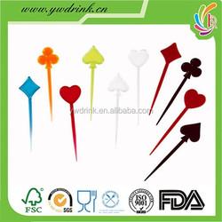 The most popular OEM plastic fruit forks