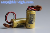 Widely use in all kinds of measuring instruments PLC/Lithium battery 3V 2/3A size 1200mAH BR-2/3A