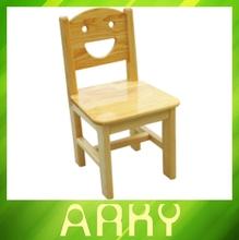 Plan cubículo colorido jardín de infancia y preescolar sillas niños madera