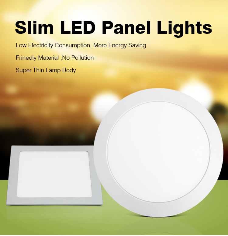 waterproof Driver whole sale slim led panel light led panel light price 3w 4w 6w 9w 12w 15w 18w