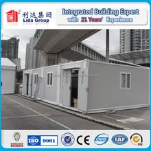 Easy assemble luxury container house small prefab modern steel house design