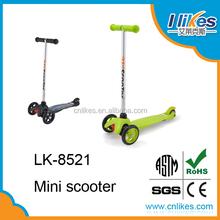 company price Mini Micro Scooter 3 wheel With T-Bar Handle