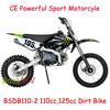 Chinese CRF Black New Motorcycle 110CC Dirt Bike with Powerful Engines