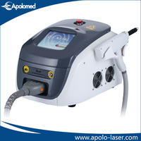 Apolo hot sale portable Q-Swithed Nd YAG laser tattoo removal machine