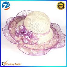 Brim Summer Beach Lady Sun Straw Hat
