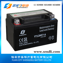 GEL sealed activate lead acid Battery for KIDS MINI MOTORCYCLE