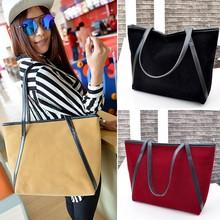 Wholesale Korean Style Women Ladies Nubuck Leather Tote Unique Handbags SV017805