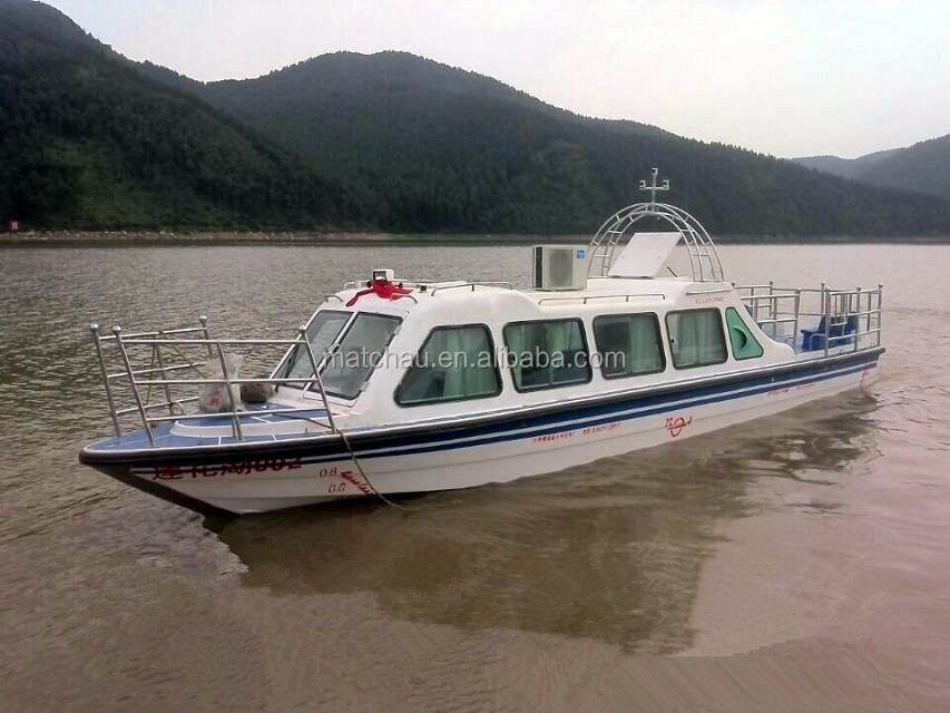 Cheap price enclosed fiberglass survival fishing yacht for Fishing boat cost