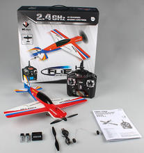 WL toys F939 2.4G 4CH RC model airplane with LCD controller