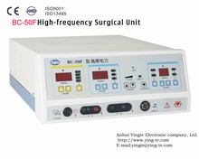 BC-50F Underwater Cutting and coagulation High Frequency Electrosurgical Unit for opthalmic surgery