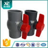 """XE"" black color pvc compact ball valve for agriculture equipments"