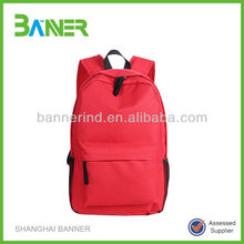 Best Selling High Quality Promotional Red Backpack Laptop Bags
