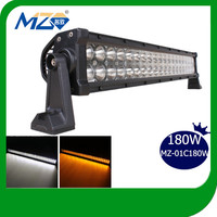 Hottest 2014 Top Selling Guangzhou Mingzhi Epistar 180W Two Color Changing LED Light Bar