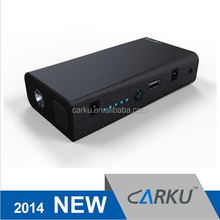 2015 new products Carku 15000mah 500A peak car accessory 12v mini emergency portable power bank and car jump starter for laptop