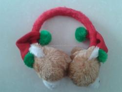 Fur Winter Ear Muff Christmas hat Ear Muff Kids Ear Muff dog design Ear Muff