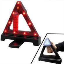 Emergency WARNING TRIANGLE KIT Model JM-D13 Road Safety Hazard Reflector w/ color box
