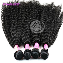 Full Cuticle Queenlike Natural Raw Unprocessed Virgin Wholesale 100% Candy Curl Brazilian Hair