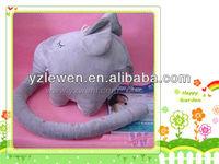 stuffed plush soft toy elephant ruler