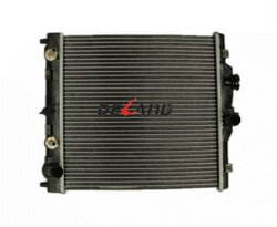 Aluminum auto engine radiator with oil cooler for HONDA CIVIC 1995-2001 OE No# 19010P03901 (DL-B056A)