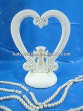 heart shape with cross wedding cake server set cake topper wedding items