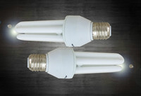3U 15W 12mm Energy Saving light bulb 6500k E27