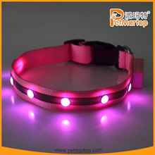 2015 hot selling super bright flashing led pet jewelry TZ-PET1002