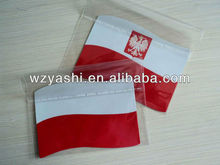 Flag fridge magnet type paper country flags fridge magnet