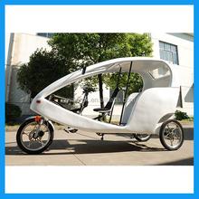 CE approved Germany motorized rickshaw for rental
