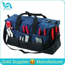 Custom Extra Large Electrician Tool Bag Heavy Duty Tool Duffel Bag With Shoulder Strap
