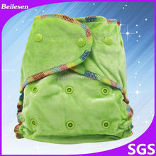 Beilesen wholesale price distributer customized baby product baby hemp fitted diaper