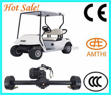high quality electric golf cart 48v dc motor as well as controller and axle,electric motor with reduction gear,Amthi