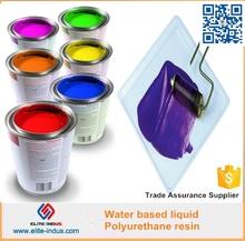 Water based polyurethane liquid resin for waterproof paint
