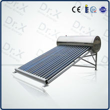 Compact Non-pressurized Solar Water Heater Vacuum Tube Collector with good quality, eco price by factory