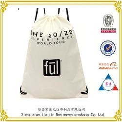 custom drawstring bag / canvas cotton Drawstring bag