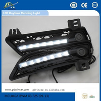 Factory Led Auto Accessory Durable day light for BMW X3 F25 Led Daytime Running Light (2009-2012)