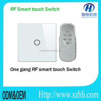 Home automation system RF433mhz HOTEL Touch screen wall lighting electronic switches EU/UK/US standard