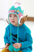 minions cats with wings style hats thick cotton hats cartoon caps baby hats winter warm hats