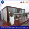 Certificated easy transportation customized container house german , container house with bathroom