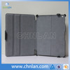 For ipad accessories hot pressing flip leather case for ipad 2 3 4 with micro fiber cover
