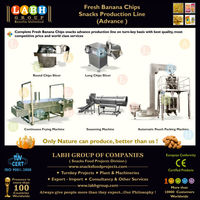Natural Fresh Banana Chips Processing Making Production Plant Manufacturing Line Machines for Sudan l737