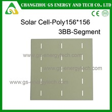 High efficiency 3.49w to 3.89w poly solar modules with silver paste for solar cell