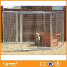 Heavy quality welded metal dog kennel cage