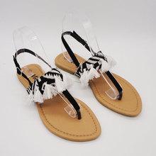 moda al por mayor los hombres de la sandalia de cuero árabe