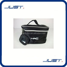 Low MOQ latest design polyester toilet bag