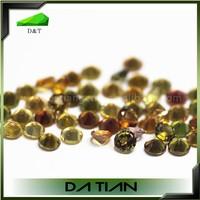 Wholesale Natural Semi Precious Stones Faceted Loose Gemstone Beads Muti-Color Uncut Tourmaline