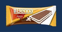 BENNA FRANTIC COCOA WAFERS WITH VANILLA CREAM
