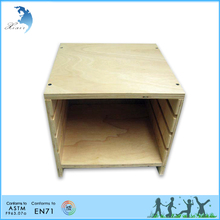 Preschool Wooden Educational Montessori Teaching Material EN71 Toddler Toy Cabinet for Botany Puzzle