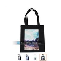 OEM production plain custom cheap cotton canvas tote bag cheap plain tote canvas bags
