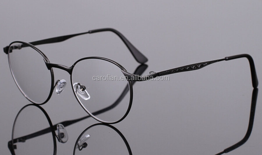 Wholesale frame eyewear spectacle gold frame round lens ...